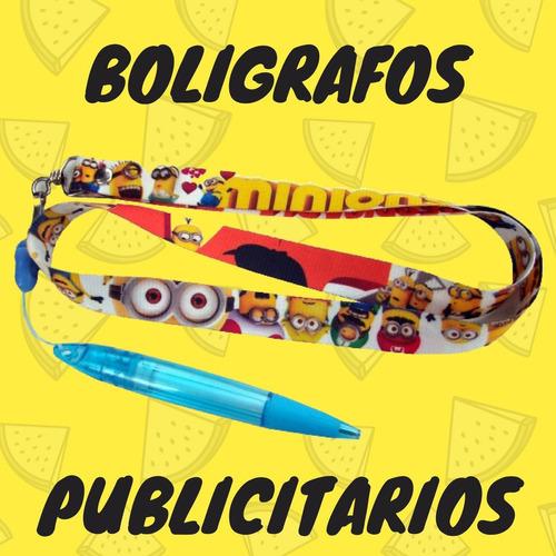 Bolígrafos Personalizados Material Pop Cintas Porta Carnets