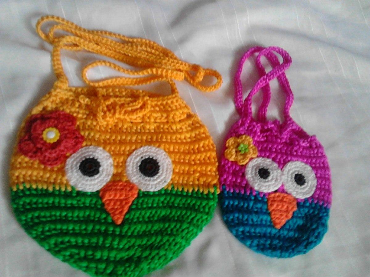 Set De Baño Tejido Al Crochet:Tejido De Ganchillo Buhos