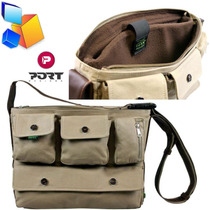Bolso Para Laptop O Mac Por Design Indiana Con Bandolero New