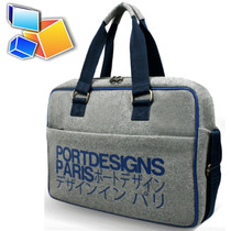Bolso Tipo Maletin Port Design Kobe Laptops Tablet Max 15.6