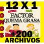 Factor Quema Grasa Programa Completo Pdf Mega Pack + Regalos