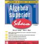 Algebra Superior / Serie Schaum / Libro Digital Pdf