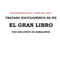 Grandes Libros De Ifa - (4 Tratados/libros Para Babalawos)