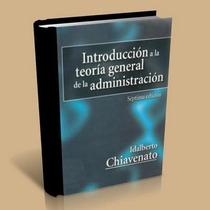 Teoria Genral De La Administracion + Obsequio