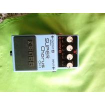 Pedal Boss Ch-1 Stereo Super Chorus Guitarra