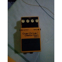 Pedal Guitarra Boss Os-2 Overdrive/distortion Guitar Effect