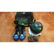Pelota De Bowling Reactiva Con Zapatos Y Bolso