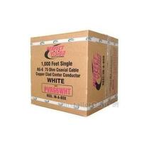 Cable Coaxial Rg6 Color Negro De 305mts