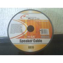 Cable De Corneta 2x16 Rojo/negro Bobina 305mts
