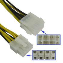 Cable Extensión Alimentación 8 Pin Macho A Hembra