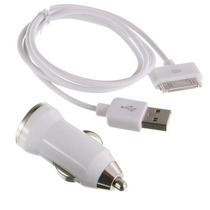 Cargador Usb Iphone 3g 3gs / 4g 4s / Ipod / Ipad Para Carro