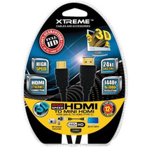 Cable Hdmi 12 (3,6 Mts) Marca Xtreme