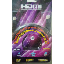 Cable Hdmi A Hdmi + Originales + Varias Medidas + Full Hd
