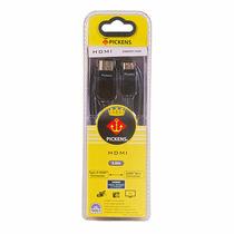 Cable Pickens Hdmi A Mini Hdmi 3mts Oro 24k 1080hd Nuevo!!!