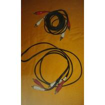 Cables Audio Y Video Rca Y Cable Hdmi Para Dvi-d 2 Mts.