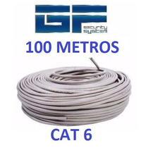 Cable Utp Cat 6 100 Metros Marca Wireplus Testeado