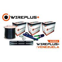 Cable Utp Cat 5e 305mts Wireplus Testeado Cat5e
