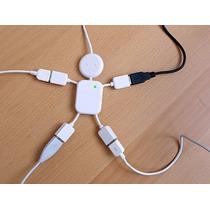 Puerto Hub 4 En1 Cable Usb 2.0 Computadoras Laptops Pc Nuevo