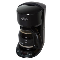 Cafetera Electrica Programable 12 Tazas Negra 3197 Oster
