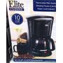 Cafetera Electrica 10 Tazas Elite 10 Tazas G