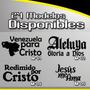 Calcomanías Cristianas En Vinil Al Mayor