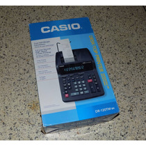 Sumadora Casio Dr 120tm Bk Nueva