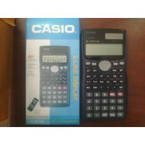 Calculadora Casio Fx-991ms Solar Cientifica 401 Funciones