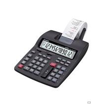 Calculadora Con Impresora Negro De 12 Dígitos Hr-150tm-bk