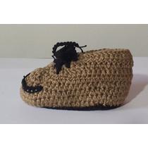 Hermosos Zapatos Escarpines Tejidos Para Bebes
