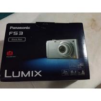 Camara Digital Panasonic Dmc-fs3 Negro/plata