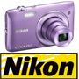 Cámara Nikon Coolpix S3500 20mp 7x + 4gb + Estuche + Trípode