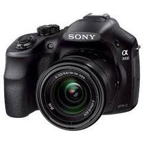 Camara Sony A3000 20.1 Mp Lente 18-55mm