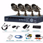 Kit Camaras Seguridad 4 Canales 4 Cam 600tvl Dvr 500gb Logan
