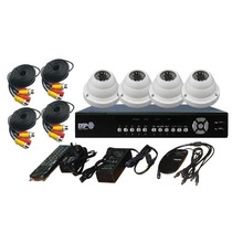 Kit De Camaras Dvr 4 Canales + Disco Duro 320gb Dsp-sf6004fc