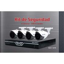 Kit De 4 Camaras De Seguridad Secutech Dvr De 4 Canales