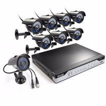 Kit Camaras Seguridad Dvr 8ch 8cam Cctv Combo No Disco