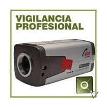 Camara Vigilancia Profesional Sharp 420tvl 1/3 Ccd 0.5lux