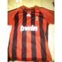 Camiseta Milan Fc Talla Xl Adidas Bwin