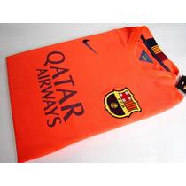 Camiseta Original A1 Barcelona Visit 2015 Neymar Messi Suare
