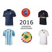 Camisetas Selecciones 2016 Argentina Portugal Holanda