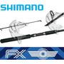 Caña De Pesca Shimano Modelo Fx Spinning De 9'