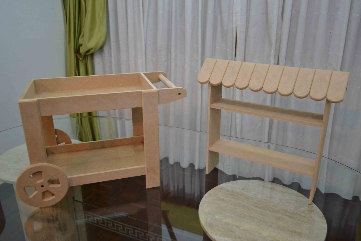 Candy Bar Carreta Para Cupcake Chupetas Caramelos, Mdf  Bs 3900,00