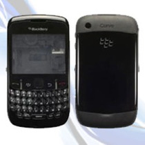 Carcasa Original Para Blackberry Gemini 8520 Sin Contactos!!