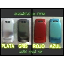 Carcasa Nokia Asha 303 Originales Full Completas Asha 303