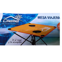 Mesa Playera Plegable Dielle 48cm X 48cm Con Bolso ¡nuevas!