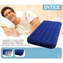 Colchon Inflable Twin Individual Marca Intex