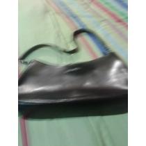 Cartera Negra Marca Boots And Bag, Cuero