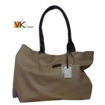 Cartera Bolso Vk Original Color Piel Oferta (vk Bags)
