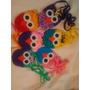 Bolsitos Búhos Tejidos En Crochet