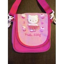 Bolso De Lado Infantil Hello Kitty